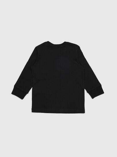 Diesel - TDIEGOYHB-ML-R, Noir - T-shirts et Hauts - Image 2