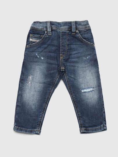 Diesel - KROOLEY JOGGJEANS-B-N, Bleu moyen - Jeans - Image 1