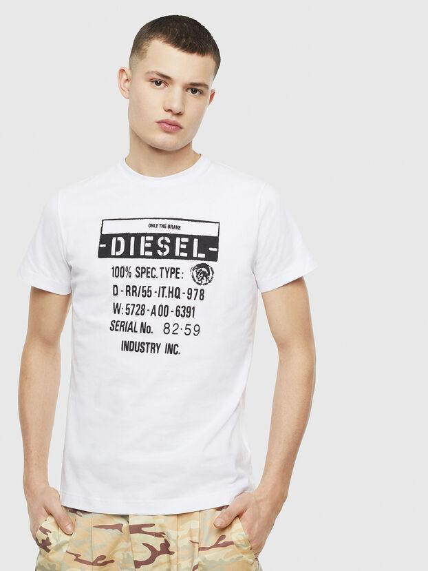 T-DIEGO-S1, Blanc - T-Shirts