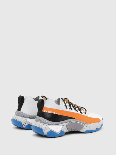 Diesel - S-KIPPER BAND, Blanc/Orange - Baskets - Image 3