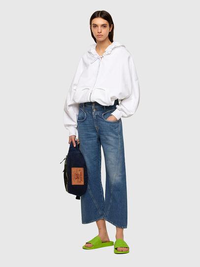 Diesel - F-BILLY-LOGO, Blanc - Pull Cotton - Image 6
