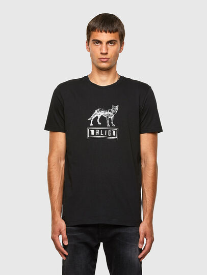 Diesel - T-DIEGOS-N20, Noir - T-Shirts - Image 1