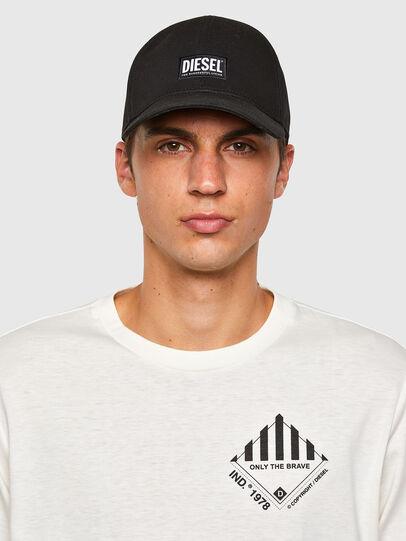 Diesel - T-JUST-LS-N60, Blanc - T-Shirts - Image 4