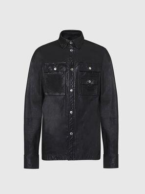 L-MALIK, Noir - Vestes de cuir