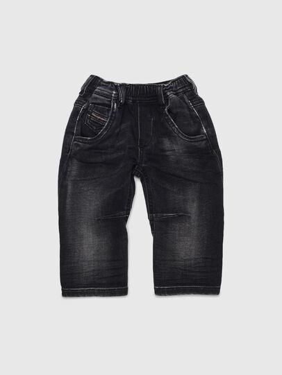 Diesel - FAYZA JOGGJEANS B-N, Noir/Gris foncé - Jeans - Image 1