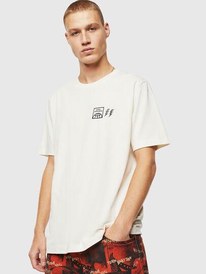 Diesel - T-JUST-VINT, Blanc - T-Shirts - Image 1