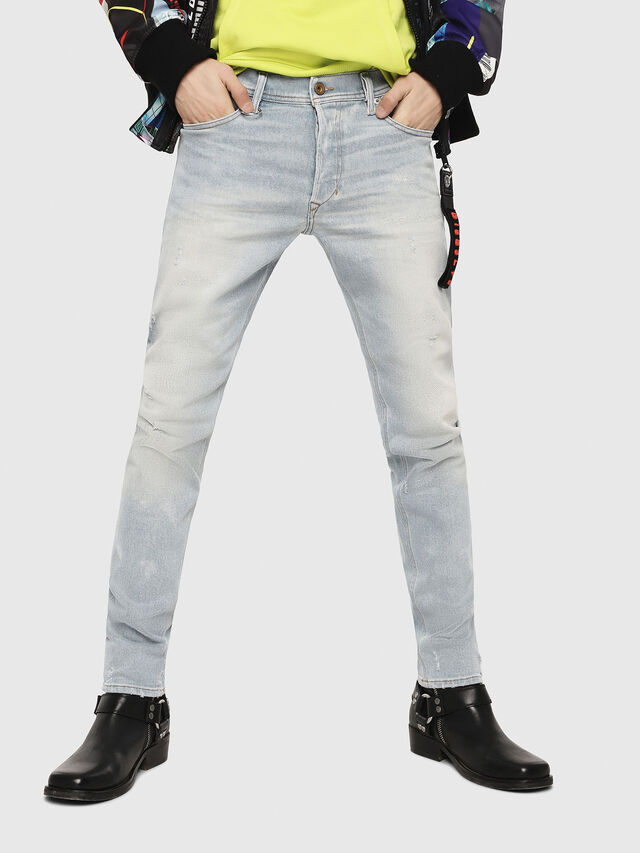 Diesel - Tepphar 081AK, Bleu Clair - Jeans - Image 1