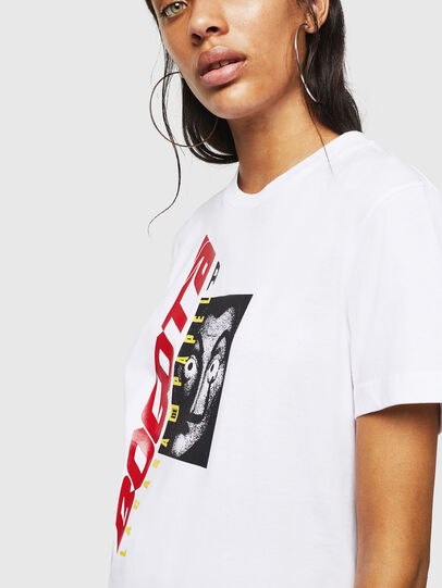 Diesel - LCP-T-DIEGO-BOGOTA, Blanc - T-Shirts - Image 5