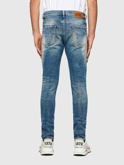Diesel - D-Strukt 009MW, Bleu moyen - Jeans - Image 2