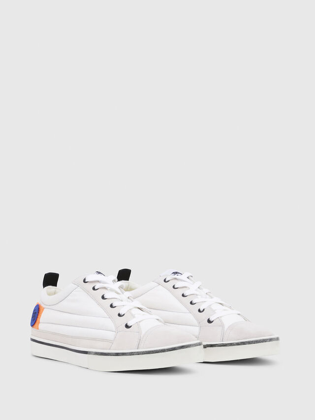Diesel - D-VELOWS LOW PATCH, Blanc - Baskets - Image 2