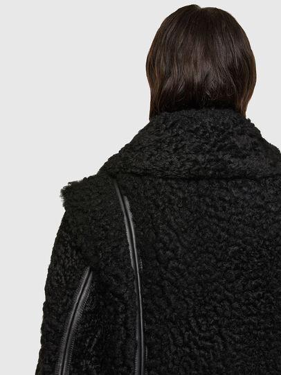 Diesel - L-EYRE, Noir - Vestes de cuir - Image 4