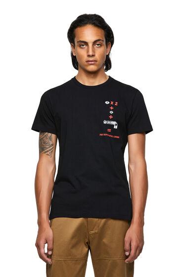 T-shirt Green Label avec imprimé équation