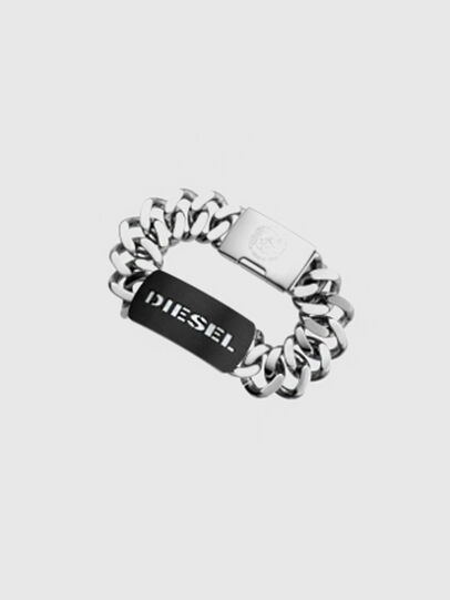 Diesel - DX0019, Gris argenté - Bracelets - Image 1