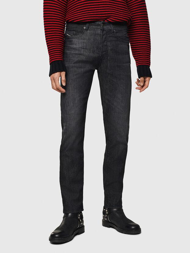 Buster 082AT, Noir/Gris foncé - Jeans