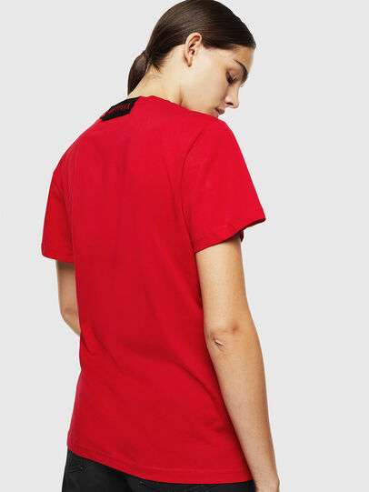 Diesel - LCP-T-DIEGO-RIO, Rouge - T-Shirts - Image 4