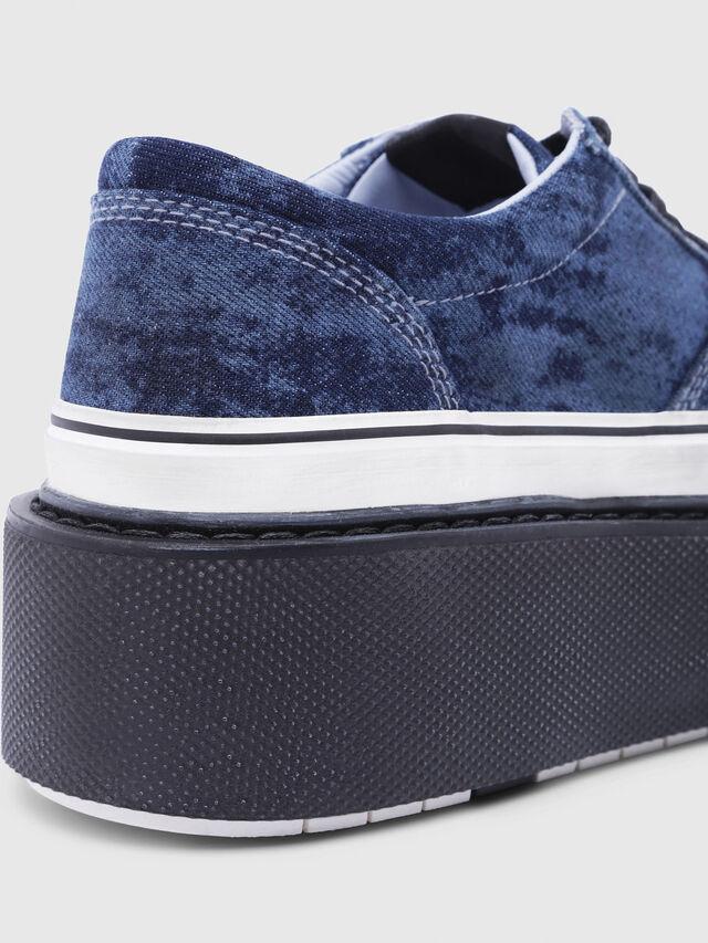 Diesel - H-SCIROCCO LOW, Bleu - Baskets - Image 5