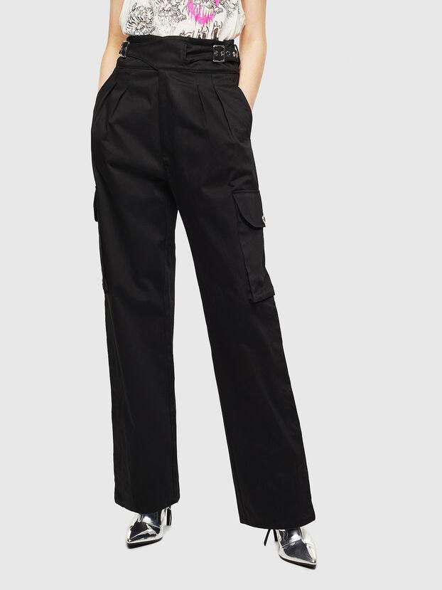 P-CHIKU, Noir - Pantalons