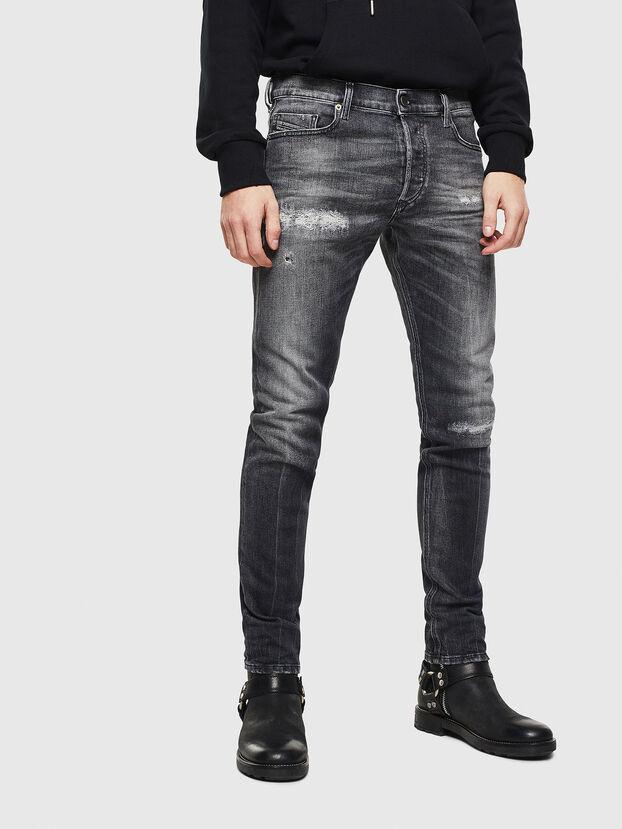 Tepphar 0095J, Noir/Gris foncé - Jeans