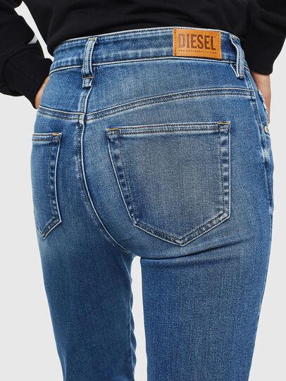Diesel - Slandy High 009AG, Bleu moyen - Jeans - Image 5