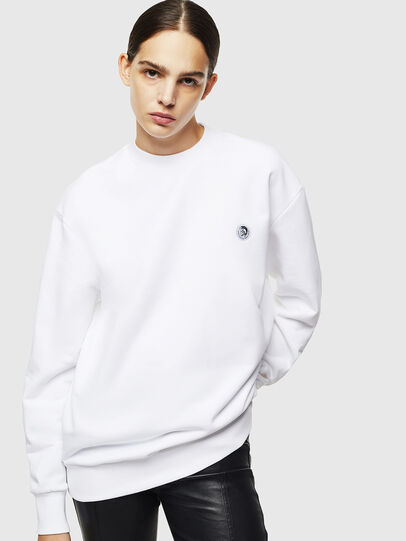 Diesel - S-LINK, Blanc - Pull Cotton - Image 2