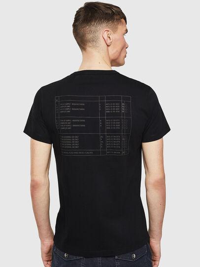 Diesel - T-DIEGO-S5, Noir - T-Shirts - Image 2