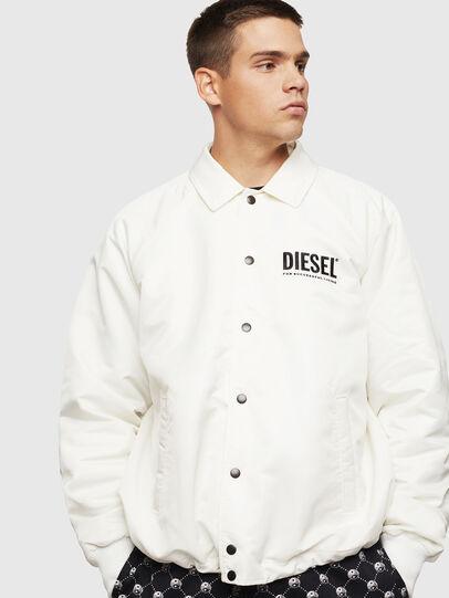 Diesel - J-AKIO-A, Blanc - Vestes - Image 1