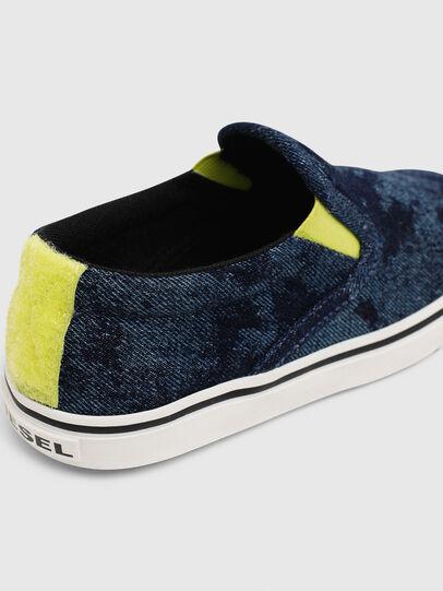 Diesel - SN SLIP ON 01 LC CH, Bleu - Footwear - Image 4
