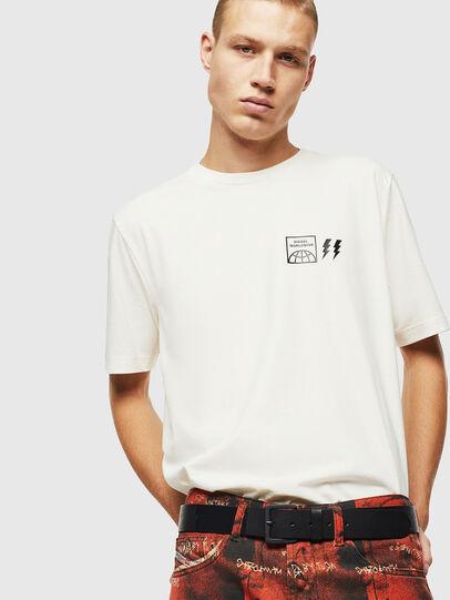 Diesel - T-JUST-VINT, Blanc - T-Shirts - Image 4