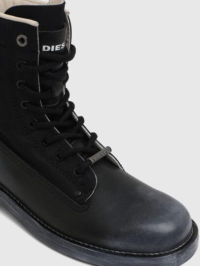 Diesel - D-THROUPER DBB W, Noir - Bottines - Image 4