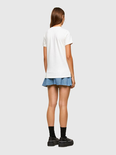Diesel - T-SILY-E55, Blanc - T-Shirts - Image 6