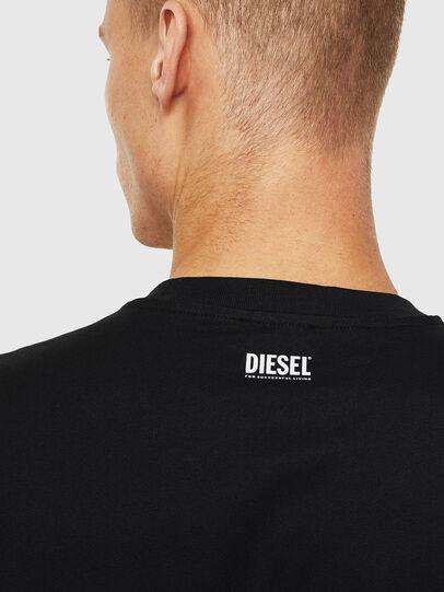 Diesel - T-JUST-J13, Noir - T-Shirts - Image 3