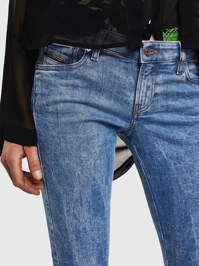 Diesel - Gracey JoggJeans 0870P, Bleu Clair - Jeans - Image 3
