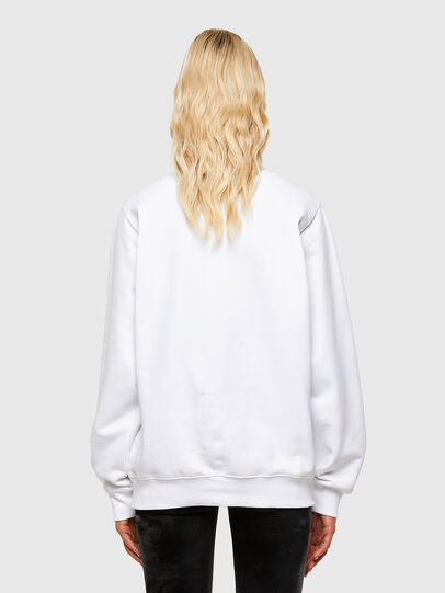 Diesel - F-ANG-R20, Blanc - Pull Cotton - Image 2