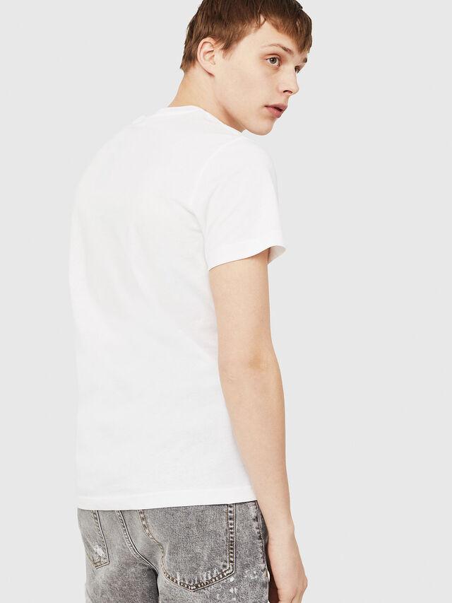 Diesel - T-DIEGO-C3, Blanc - T-Shirts - Image 2