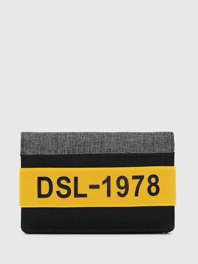 Diesel - ORGANIESEL, Noir/Jaune - Petits Portefeuilles - Image 1