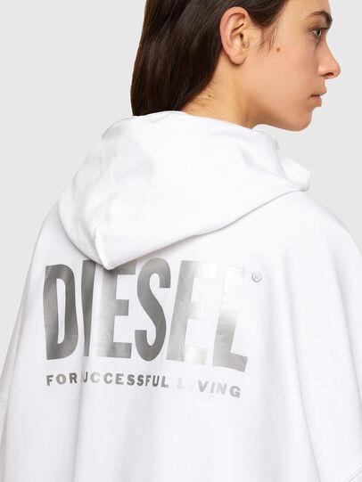Diesel - F-BILLY-LOGO, Blanc - Pull Cotton - Image 4