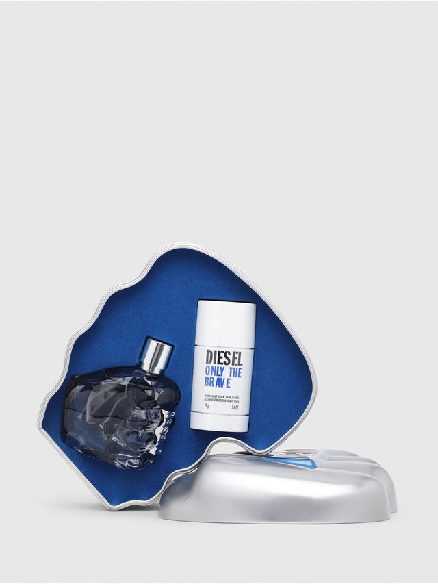 Diesel - ONLY THE BRAVE 125ML METAL GIFT SET, Générique - Only The Brave - Image 1