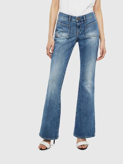 Diesel - D-Ebbey 0099M, Bleu moyen - Jeans - Image 1