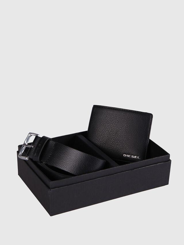 Diesel - STERLING BOX I, Cuir Noir - Bijoux et Gadgets - Image 1