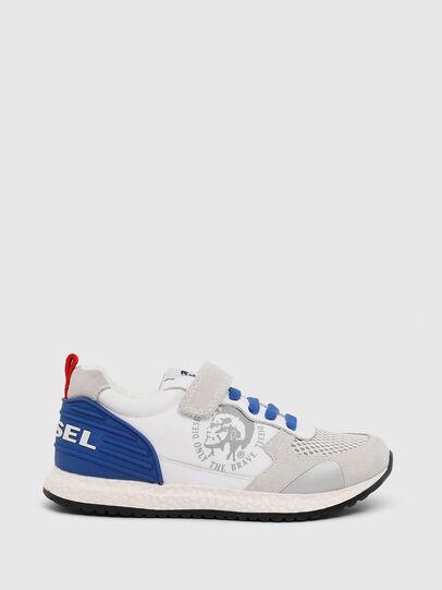 Diesel - SN RUNNER 01 LC CH, Blanc/Bleu - Footwear - Image 1