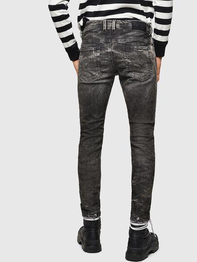 Diesel - Thommer JoggJeans 0890B, Noir/Gris foncé - Jeans - Image 2