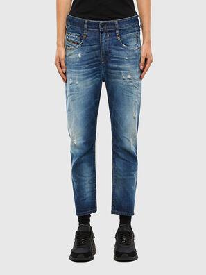 Fayza 009LF, Bleu moyen - Jeans