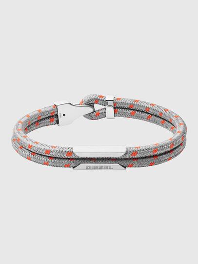 Diesel - DX1249, Gris - Bracelets - Image 1