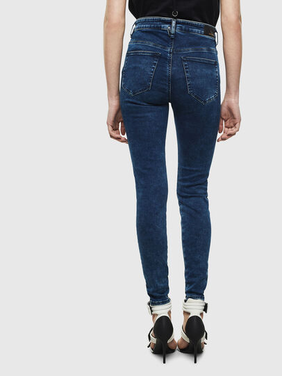 Diesel - Slandy High 0094Z, Bleu Foncé - Jeans - Image 2