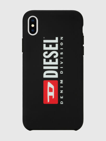 Diesel - DIESEL PRINTED CO-MOLD CASE FOR IPHONE XS MAX, Noir/Blanc - Coques - Image 4