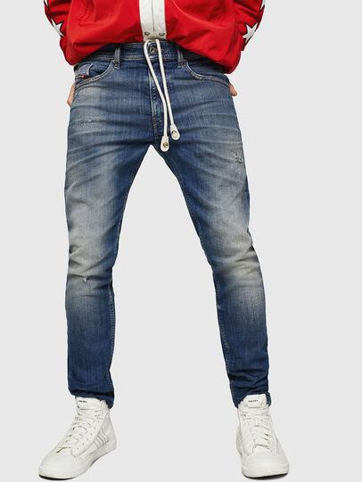 Diesel - Thommer JoggJeans 0870M, Bleu moyen - Jeans - Image 1
