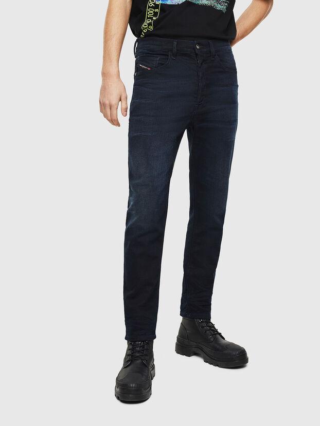 D-Eetar 084AY, Bleu Foncé - Jeans