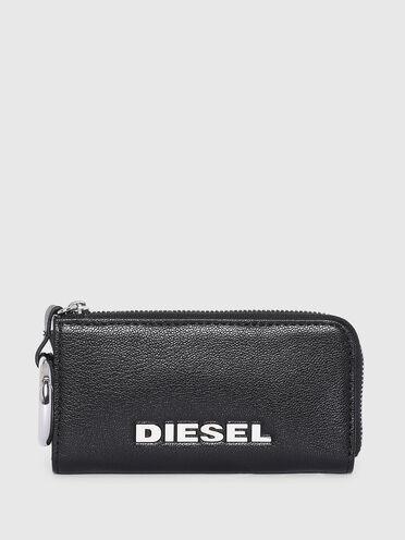 Pochette porte-clés en cuir véritable