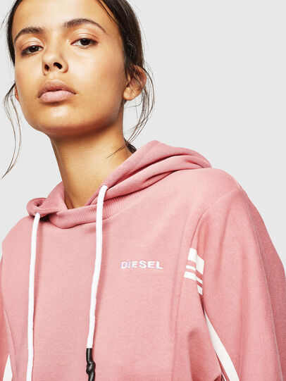 Diesel - UFLT-VERTIX-CROP, Rose - Pull Cotton - Image 3
