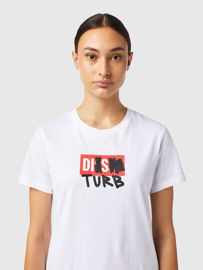 Diesel - T-SILY-B6, Blanc - T-Shirts - Image 3